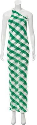 Stella McCartney Mesh-Accented Maxi Dress