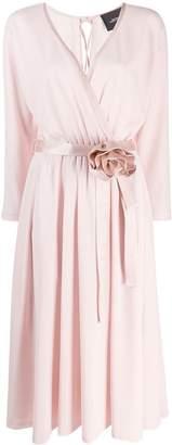 Marc Jacobs Rosette wrap dress