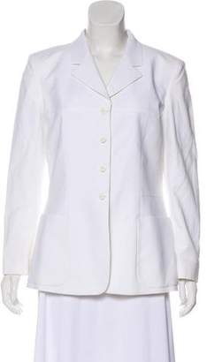Fendi Structured Button-Up Blazer