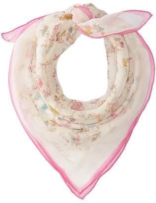 Lauren Ralph Lauren Melisa Silk Square Scarf Scarves