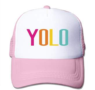 Oops Times Cap Trucker Motto You Only Live Once-YOLO Adjustable Mesh Back Baseball Cap