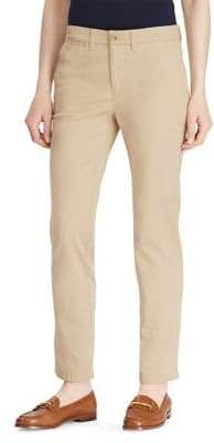 Lauren Ralph Lauren Petite Stretch Chino Straight Pants