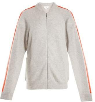 Amanda Wakeley - Zip Through Cashmere Sweater - Womens - Light Grey
