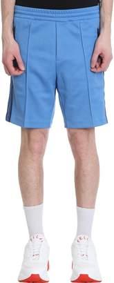 Stella McCartney Light Blue Polyester Bermuda Shorts
