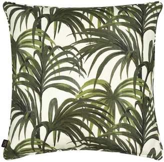 Palmeral Printed Cotton & Linen Pillow