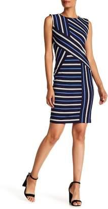 ECI Striped Sheath Dress