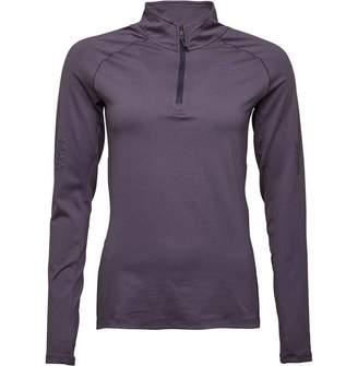 adidas Womens Supernova 1/2 Zip Long Sleeve Top Noble Ink/Coloured Heather