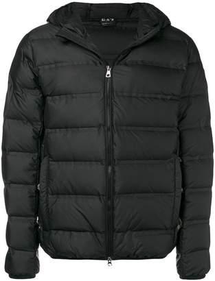 Emporio Armani Ea7 hooded puffer jacket