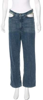 Rachel Comey Cropped High-Rise Jeans