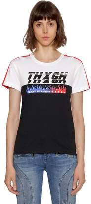 Tommy Hilfiger (トミー ヒルフィガー) - TOMMY HILFIGER GIGI HADID SPEED コットンジャージーTシャツ