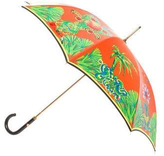 Gianni Versace Miami Print Umbrella