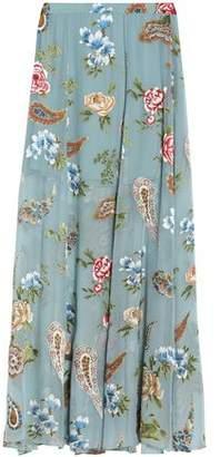 Alice + Olivia Athena Fil Coupé Maxi Skirt