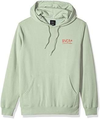 RVCA Men's SQUIG Pullover Fleece Hooded Sweatshirt