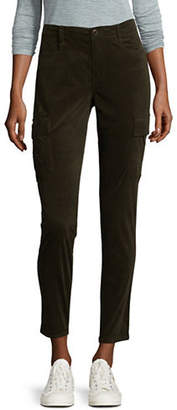 Vince Cropped Skinny Corduroy Pants