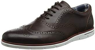 Dune Men's Branson Brogues, (Brown), 43 EU
