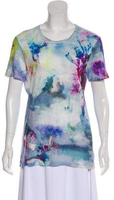 IRO Linen Short Sleeve Top