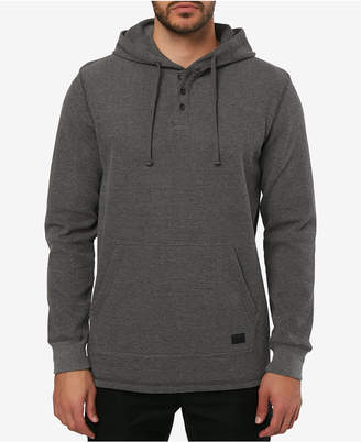 O'Neill Men's Olympia Waffle-Knit Thermal Hooded Henley