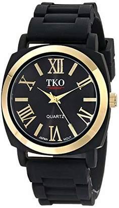 TKO ORLOGI Women's 'Milano III' Quartz Metal and Rubber Casual Watch