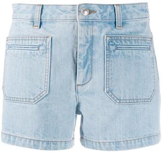 A.P.C. short denim shorts