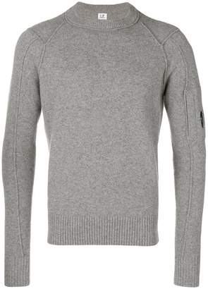 C.P. Company long-sleeve fitted sweater