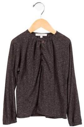 Caramel Baby & Child Boys' Linen-Blend Knit Shirt