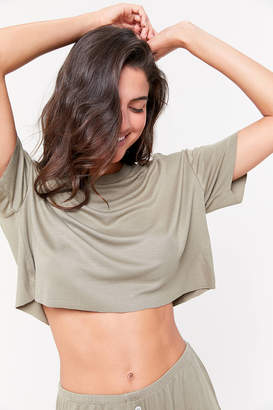 Out From Under Slouchy Short Sleeve Top