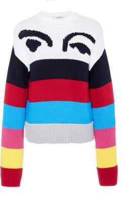 Derek Lam 10 Crosby Multicolored Stripe Sweater