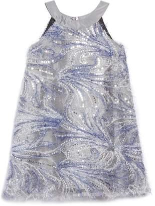 Chloé Isobella & Blizzard Blues A-Line Dress
