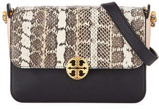 ea6bb9b5b Tory Burch Chelsea Colorblock Snake Crossbody Bag