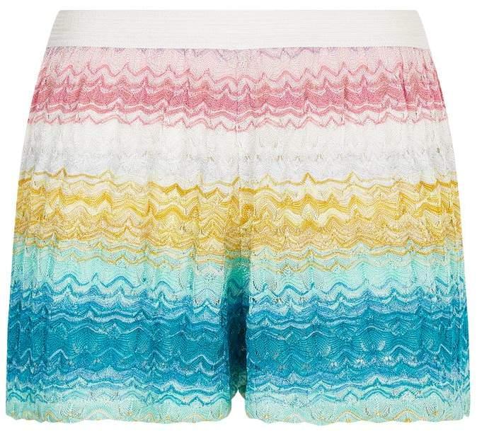 Missoni Mare Rainbow Stripe Shorts