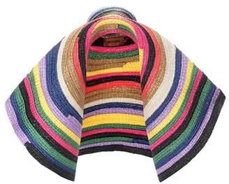 Missoni Striped oversized hat