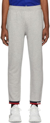 Moncler Grey Striped Lounge Pants