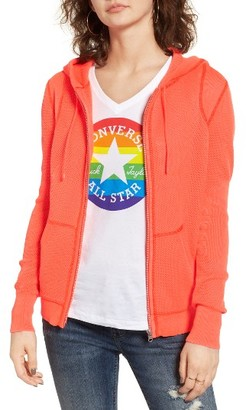Women's Converse Eng Knit Hoodie $95 thestylecure.com