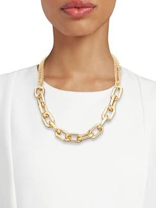 Panacea Chainlink Goldtone Necklace