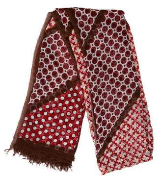 Stella McCartney Printed Woven Scarf