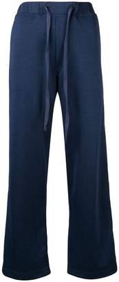 À La Garçonne side stripe track trousers