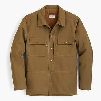 J.Crew Wallace & Barnes herringbone shirt jacket