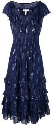 Rebecca Taylor metallic star dress