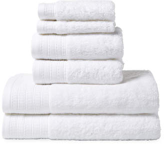 Peacock Alley Riviera Cotton Towels (Set of 6)