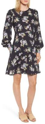 Velvet by Graham & Spencer Floral Blouson Sleeve Dress