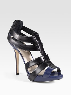 Dior Strappy Platform Sandals