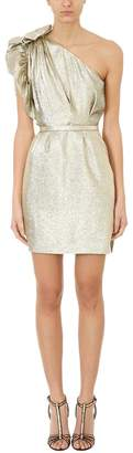 Stella McCartney One-shoulder Lurex Dress