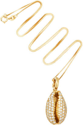 Hirsch Aron & Hamar 18K Gold Diamond Necklace