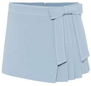 RED Valentino Stretch cady crêpe shorts