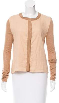 Reed Krakoff Long Sleeve Button-Up Cardigan