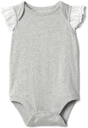 Eyelet flutter bodysuit $16.95 thestylecure.com