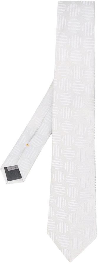 CanaliCanali circle stripe tie