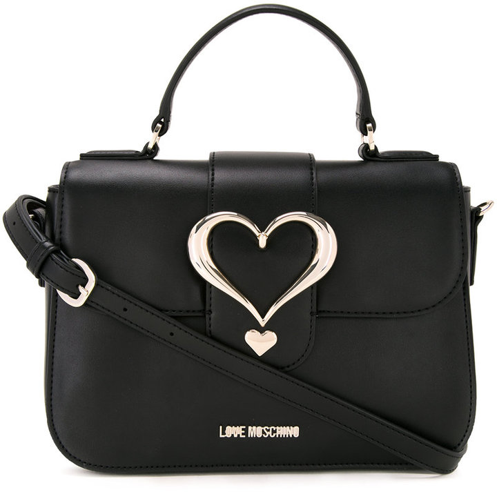 Love MoschinoLove Moschino love buckle cross body bag