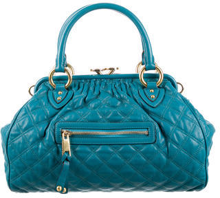 Marc Jacobs Marc Jacobs Quilted Leather Stam Satchel