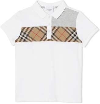 832ca8b30 Check Collar Polo Shirt Burberry - ShopStyle
